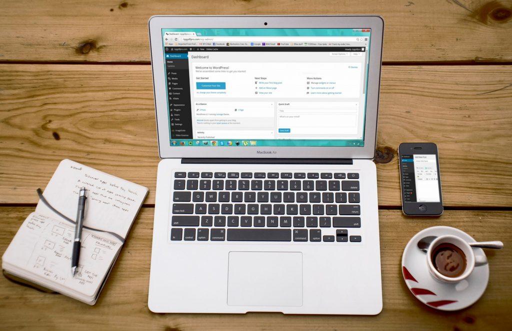 Creación de páginas webs y tiendas online con WordPress